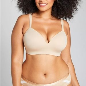 Cacique Wire Free Lightly Lined T-Shirt Bra 44DD